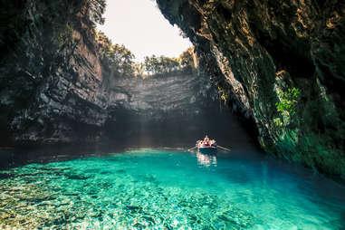 Melissani Cave, Greece