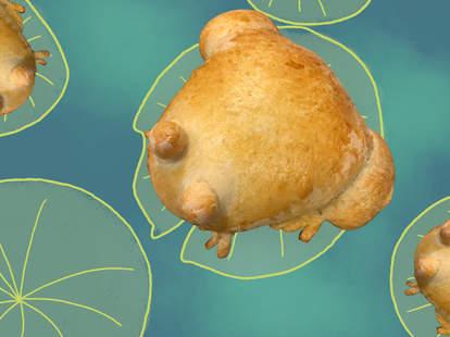 TikTok frog bread