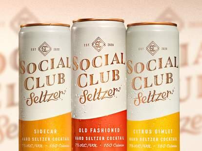 social club seltzer