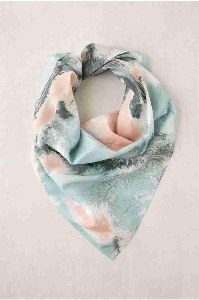 marble mist dog bandana