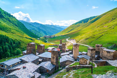 Ushguli village