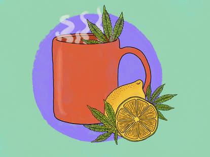 cannabis iced tea weed high diy easy teas