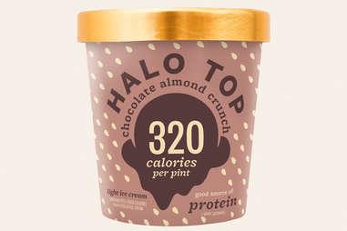 Halo Top chocolate almond crunch flavor ranking
