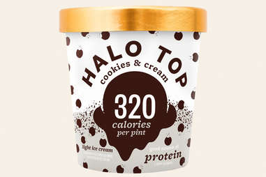 Halo Top cookies and cream flavor ranking