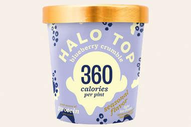 halo top blueberry crumble ice cream flavor ranking