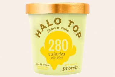 halo top lemon cake ice cream flavor ranking