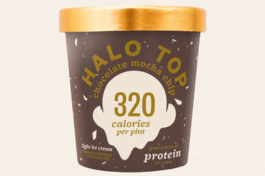 halo top chocolate mocha chip ice cream flavor ranking