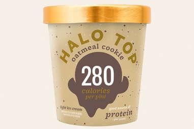 halo top oatmeal cookie ice cream flavor ranking
