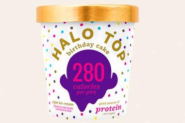 halo top birthday cake ice cream flavor ranking