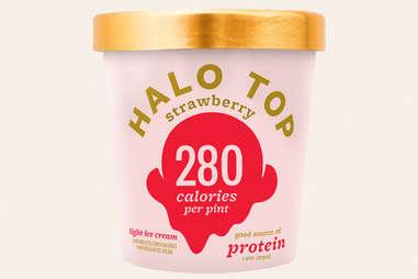 halo top strawberry ice cream flavor ranking