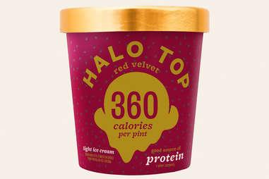 halo top red velvet ice cream flavor ranking