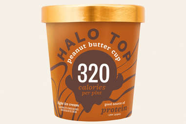 halo top peanut butter cup ice cream flavor ranking