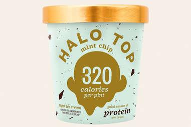 halo top mint chip ice cream flavor ranking