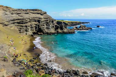 Papakōlea Beach