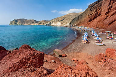 Red Beach, Santorini