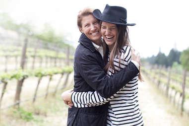Michèle Ouellet and Melinda Kearney