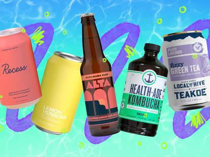 drinks non alcoholic recess summer teakoes healthade kombucha fizzy tea sparkling