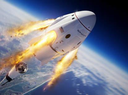 spaceX shuttle launch NASA