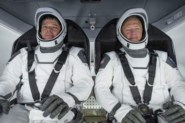 SpaceX astronauts launch
