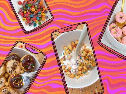 tiktok mini cereal