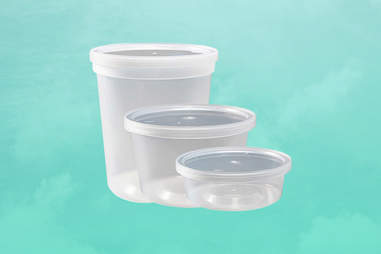 deli quart containers for cold brew coffee