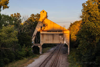 Grand Trunk Western Coaling Tower