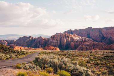 Snow Canyon landscape