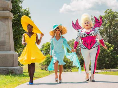 Bob the Drag Queen, Shangela, and Eureka O'Hara