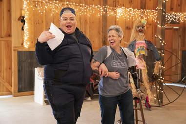 Eureka O'Hara and Lynn