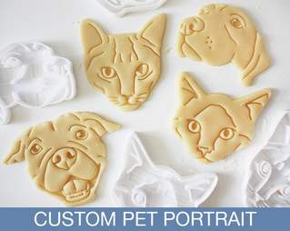 custom cat cookie cutter