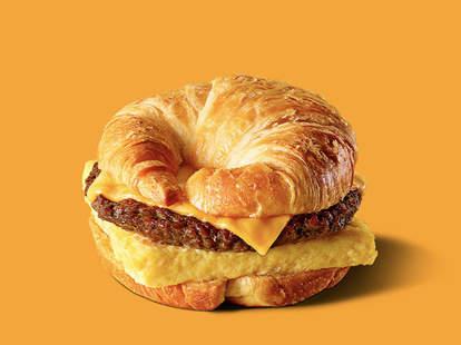 burger king free croissant