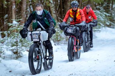 Snowy Arrowhead Trail