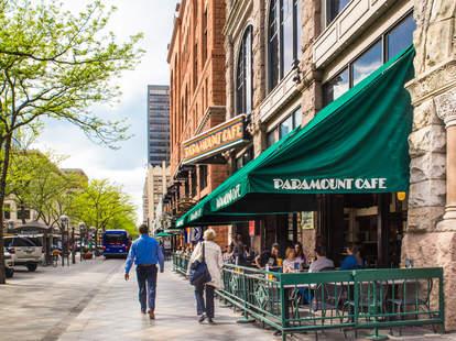 Denver shopping district