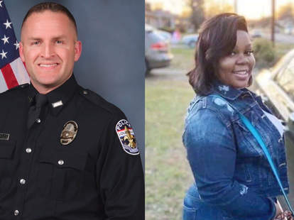 White Officer Involved In Breonna Taylor S Shooting Death Fired Nowthis