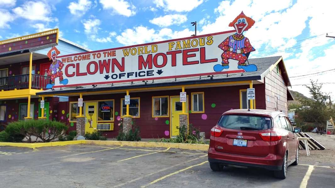 Meet the Man Behind Nevada's Creepy, Definitely Haunted Clown Motel