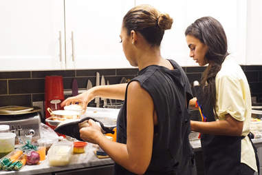 Roshelly and Shanelly Pena Higher Dining