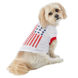 dog flag tee shirt