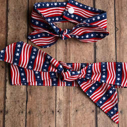 4th of july pet bandana