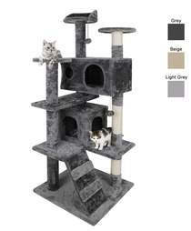 Multilevel cat scratching post