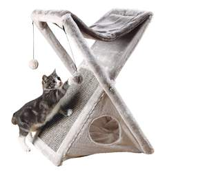 Foldable cat scratching post