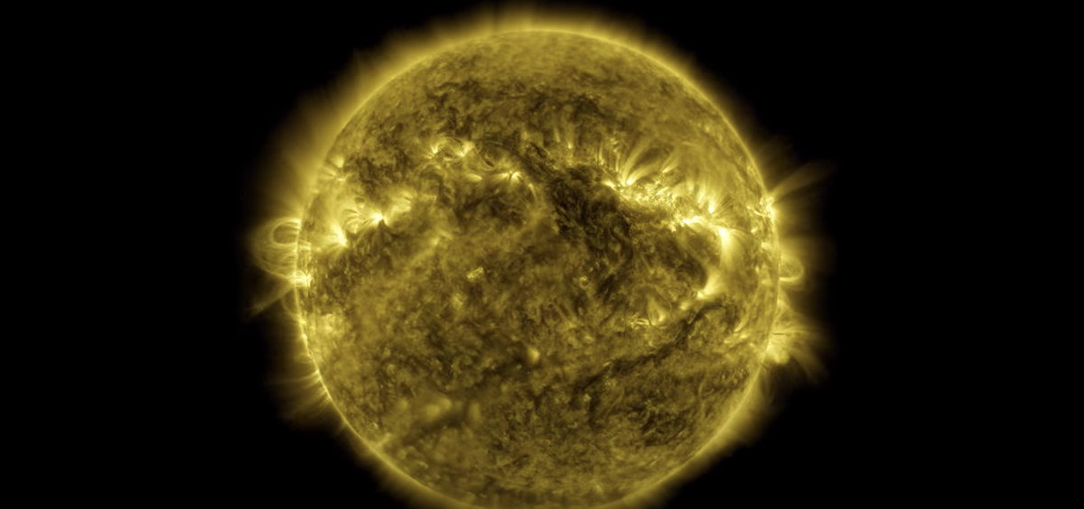 NASA Made an Incredible 10-Year Time Lapse of the Sun's Fiery Rotation