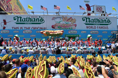 nathan's hot dog eating contest major league eating mle