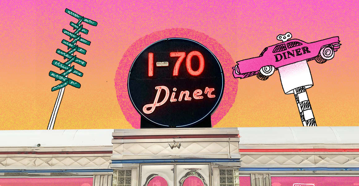 To Find the I-70 Diner, Look for the Pink Cadillac in the Sky