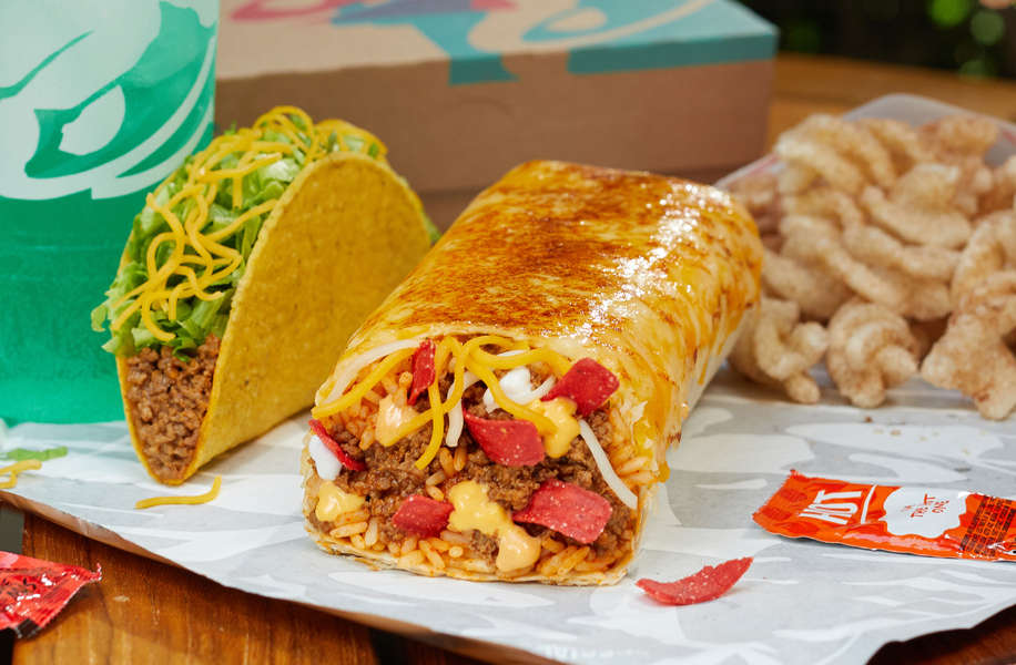 Taco Bell's Insanely Cheesy Grilled Cheese Burrito Has an Outer Layer of Cheese