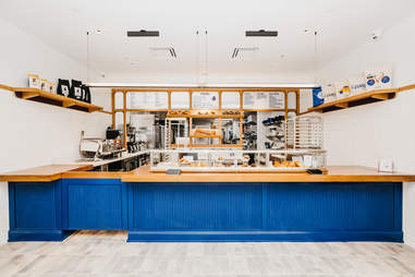 New Levain Bakery interior in Williamsburg