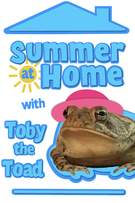 Summer At Home With Toby The Toad cover art