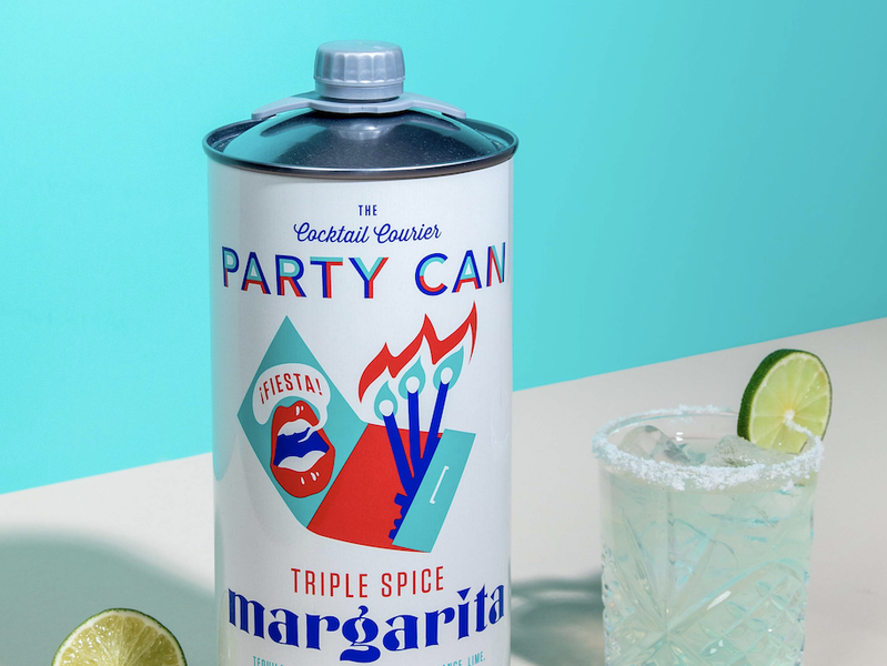 These Giant Margarita Party Cans Contain 12 Servings