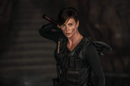 the old guard netflix, charlize theron