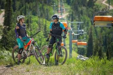 Park City Mountain trails
