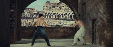bruce lee chuck norris the way of the dragon